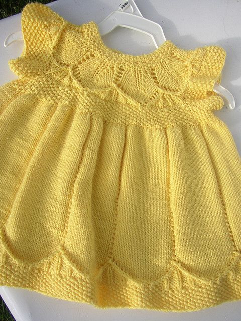 Awesome 17 Best Ideas About Knit Baby Dress On Pinterest Knitted Baby Dress Of Brilliant 49 Photos Knitted Baby Dress