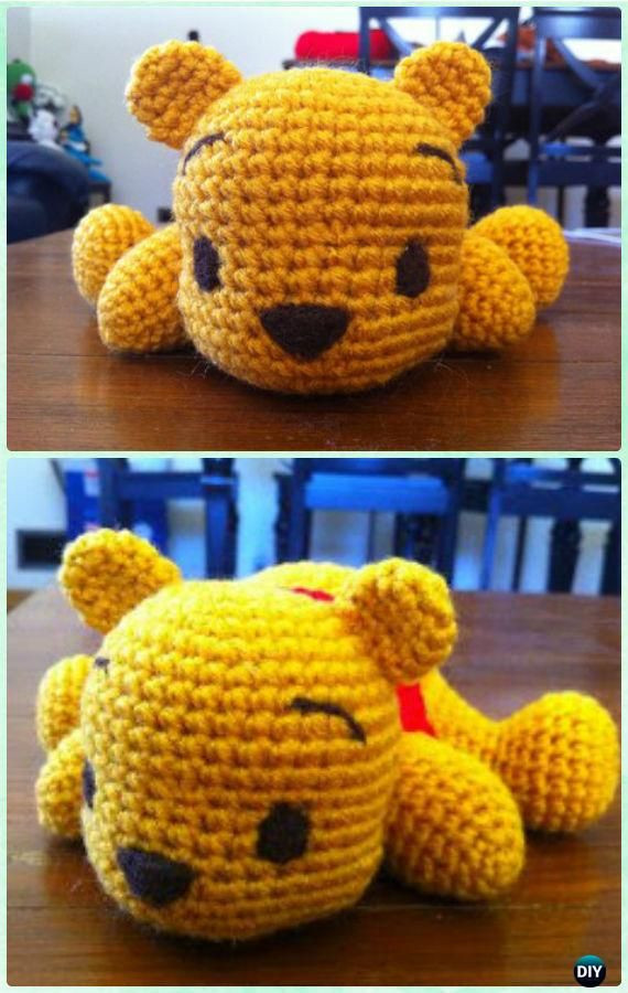 Awesome 17 Best Ideas About Winnie the Pooh On Pinterest Winnie the Pooh Crochet Pattern Of Amazing 47 Photos Winnie the Pooh Crochet Pattern