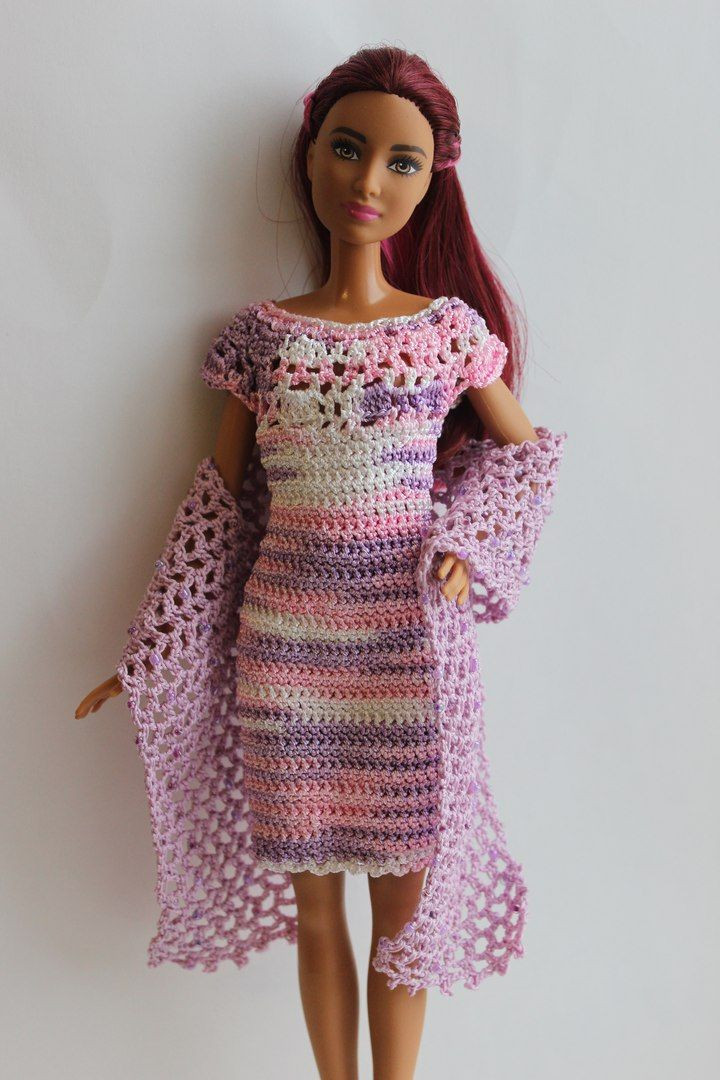 Awesome 17 Best Images About Barbie Doll Clothes On Pinterest Crochet Fashion Of Adorable 43 Photos Crochet Fashion