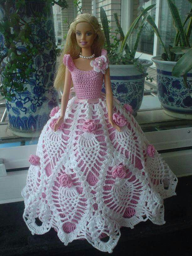Awesome 17 Best Images About Free Bed Doll Patterns On Pinterest Free Crochet Doll Dress Patterns Of Top 50 Photos Free Crochet Doll Dress Patterns