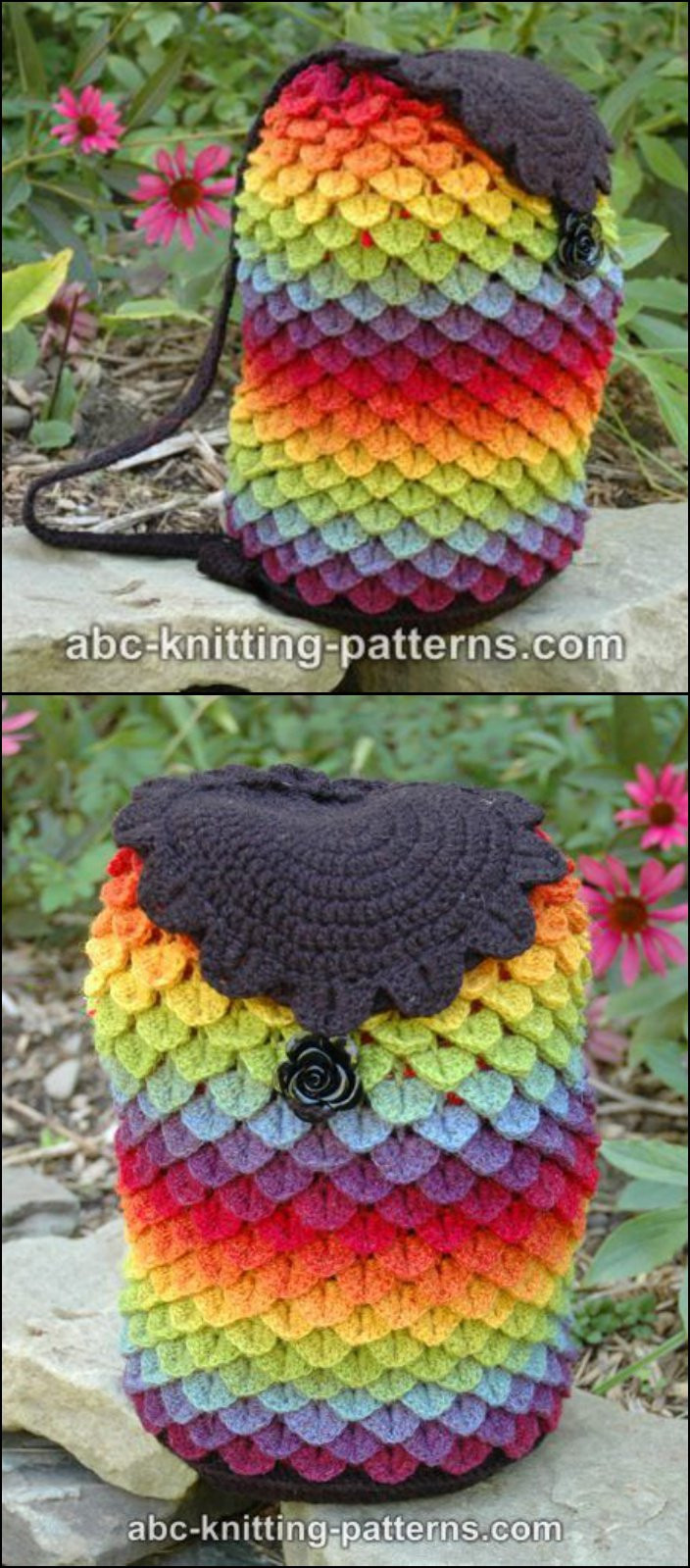 Awesome 18 Crochet Backpack with Free Patterns Crochet Rainbow Pattern Of Wonderful 45 Images Crochet Rainbow Pattern