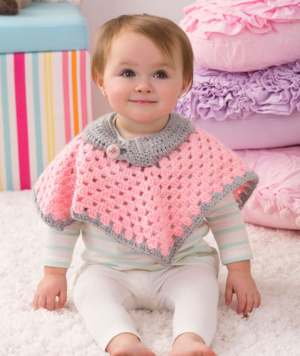 Awesome 18 Crochet Poncho Patterns Baby Poncho Pattern Of Gorgeous 49 Images Baby Poncho Pattern