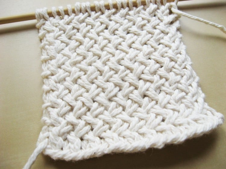Awesome 18 Easy Knitting Stitches You Can Use for Any Project Basket Weave Knitting Pattern Of Marvelous 48 Images Basket Weave Knitting Pattern