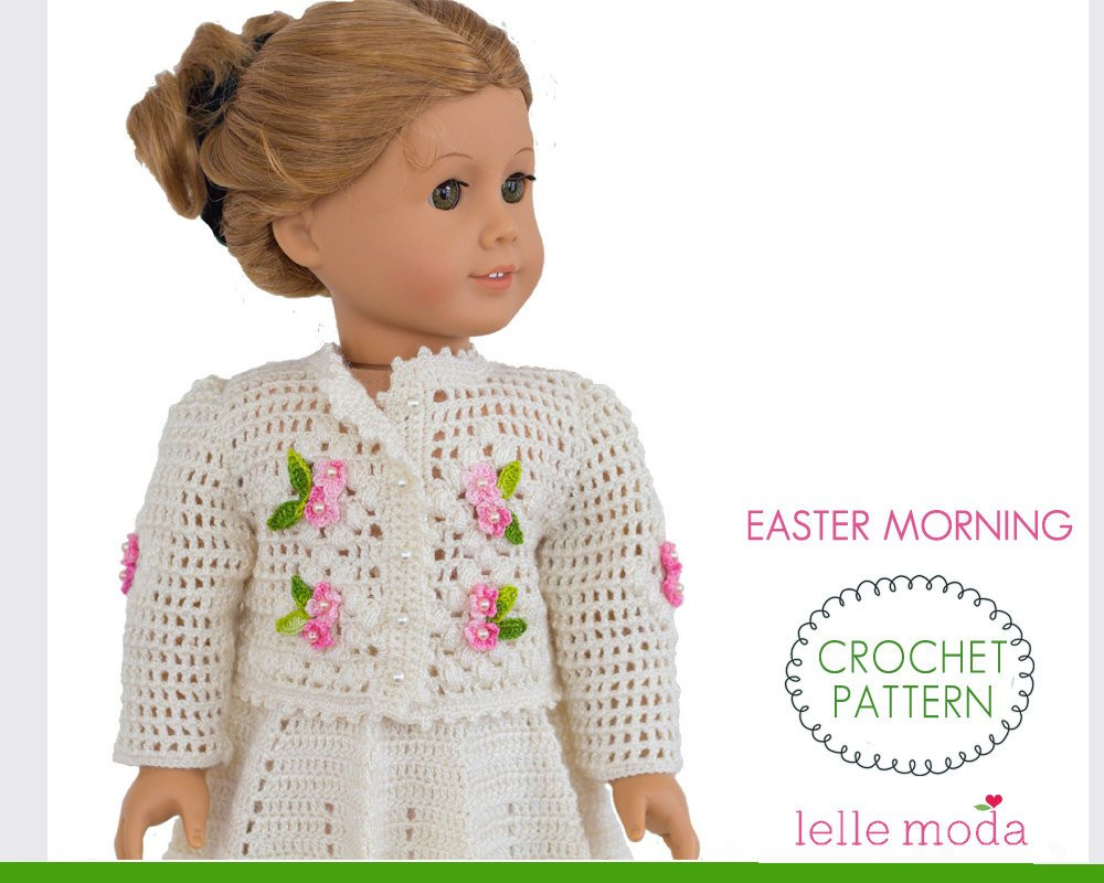 Awesome 18 Inch Doll Clothes Crochet Pattern Skirt and top Set for American Girl Doll Crochet Patterns Of Adorable 47 Pics American Girl Doll Crochet Patterns