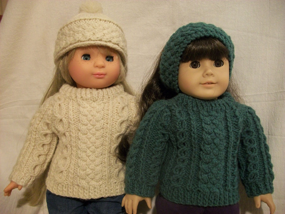 """Awesome 18"""" Doll Knitting Pattern Fits American Girl Irish American Girl Doll Knitting Patterns Of Brilliant 47 Models American Girl Doll Knitting Patterns"""