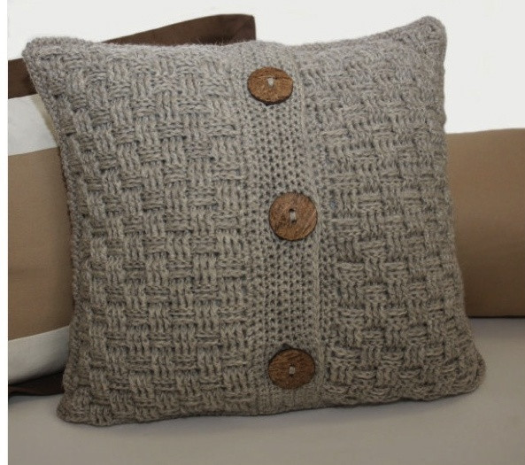 Awesome 19 Best Crochet Pillow Cover Patterns Images On Pinterest Knit Pillow Cover Pattern Of Amazing 45 Pics Knit Pillow Cover Pattern