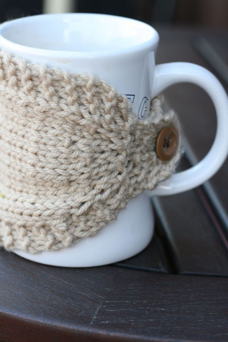 Awesome 190 Best Images About Coffee Mug Cozies On Pinterest Knitted Mug Cozy Of Unique 48 Photos Knitted Mug Cozy