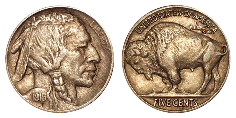 Awesome 1915 Buffalo Nickels Indian Head Nickel Line Type Value Buffalo Nickel Price Of Top 49 Ideas Buffalo Nickel Price