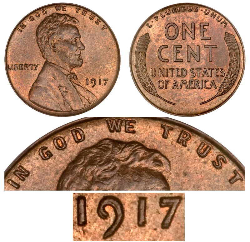 Awesome 1917 Lincoln Wheat Cent Doubled Die Obverse Bronze Lincoln Cent Values Of Amazing 50 Images Lincoln Cent Values