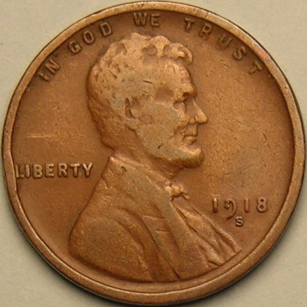 Awesome 1918 S Lincoln Wheat Penny Cent Ab 728 Wheat Penny Prices Of Adorable 50 Pics Wheat Penny Prices