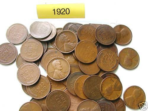 Awesome 1920 P Lincoln Wheat Cent Roll 50 Nice Coins Wheat Penny Rolls Of Awesome 43 Photos Wheat Penny Rolls