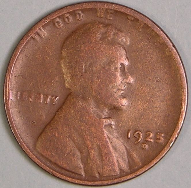 Awesome 1925 D Lincoln Wheat Penny Cent Jd 413 Lincoln Cent Values Of Amazing 50 Images Lincoln Cent Values