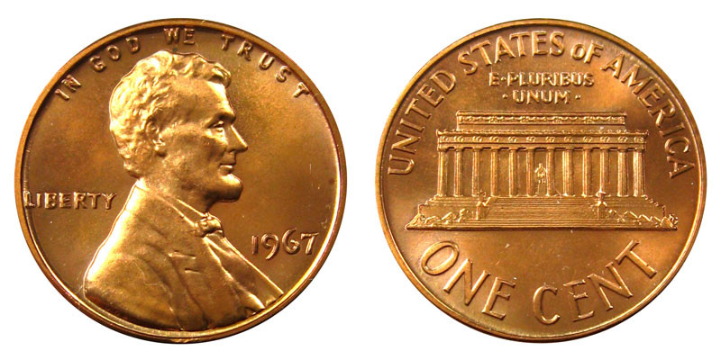 Awesome 1967 Lincoln Memorial Cent Penny Value and Prices Lincoln Cent Values Of Amazing 50 Images Lincoln Cent Values