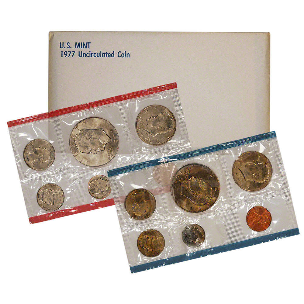 Awesome 1977 United States Mint Uncirculated Coin Set Us Mint Sets Of Marvelous 43 Ideas Us Mint Sets