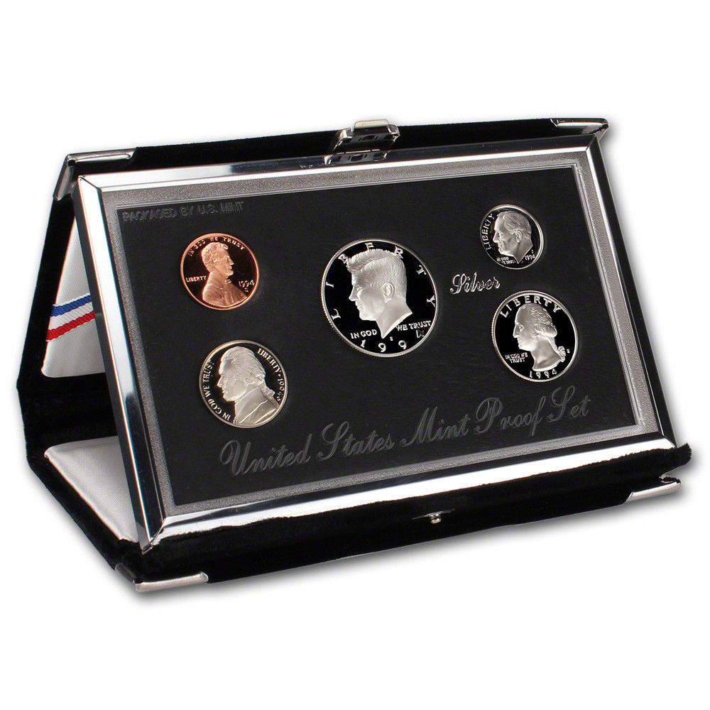 Awesome 1994 Us Mint Premier Silver Proof Set Proof Sets Of Great 40 Photos Proof Sets