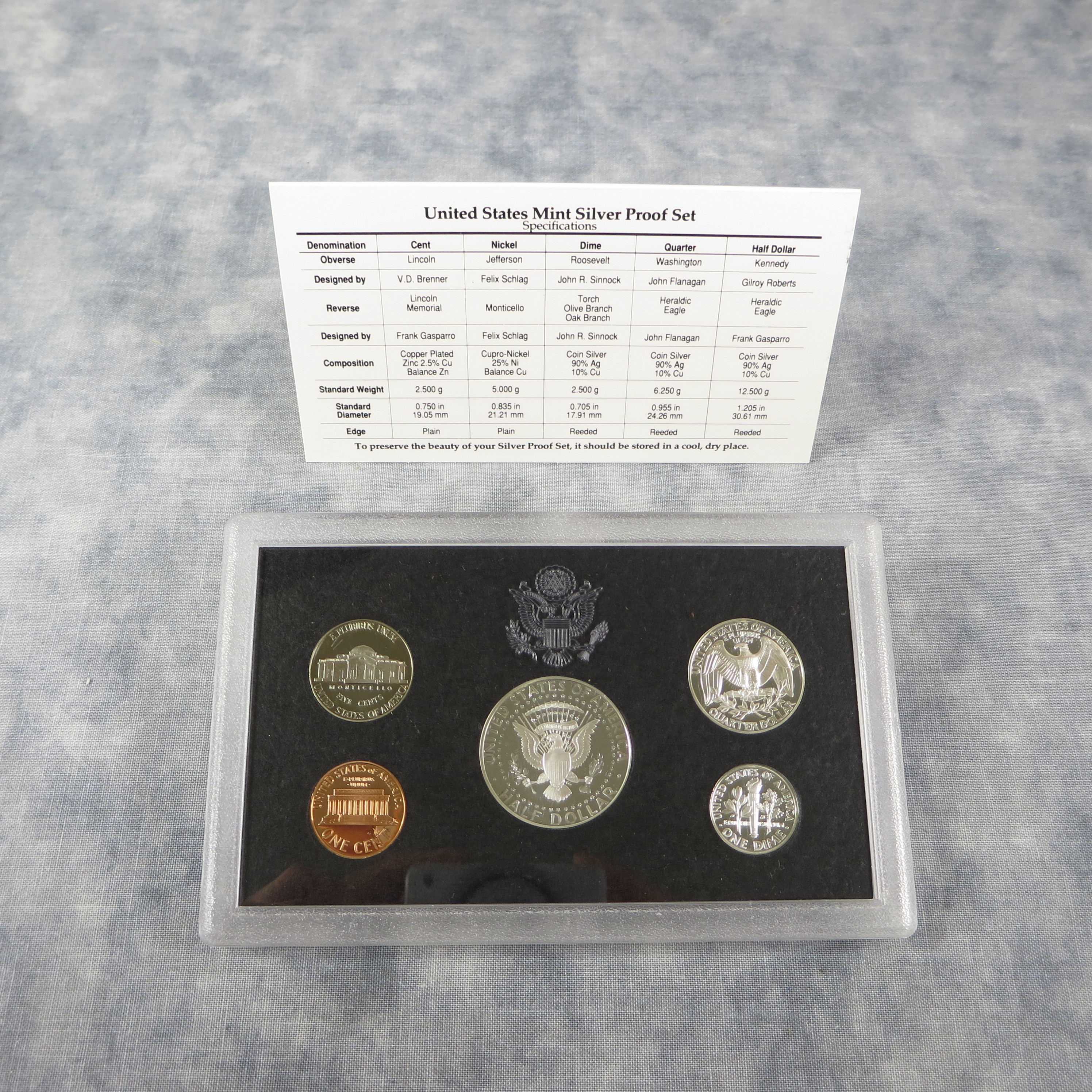 Awesome 1998 Silver Proof Set 5 Coins with Black Box & Coa Us Us Mint Silver Proof Set Of Awesome 41 Ideas Us Mint Silver Proof Set