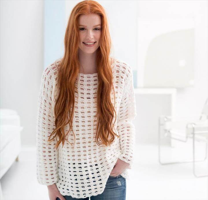 Awesome 20 Awesome Crochet Sweaters for Women S White Crochet Sweater Of Wonderful 44 Ideas White Crochet Sweater