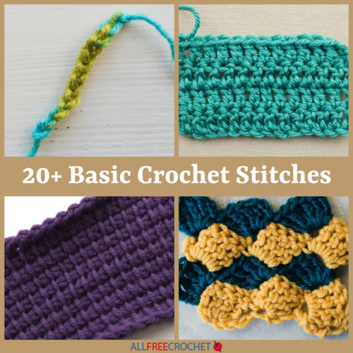Awesome 20 Basic Crochet Stitches Different Types Of Crochet Stitches Of Innovative 44 Images Different Types Of Crochet Stitches