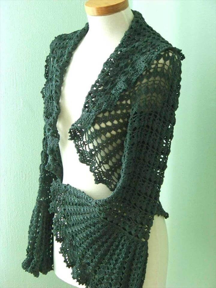 Awesome 20 Easy Beginner Shrug Pattern Free Crochet Shrug Pattern Of Adorable 47 Images Free Crochet Shrug Pattern