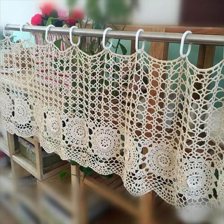 Awesome 20 Gorgeous Crochet Decor Pattern & Ideas Crochet Curtains Of Marvelous 47 Pictures Crochet Curtains