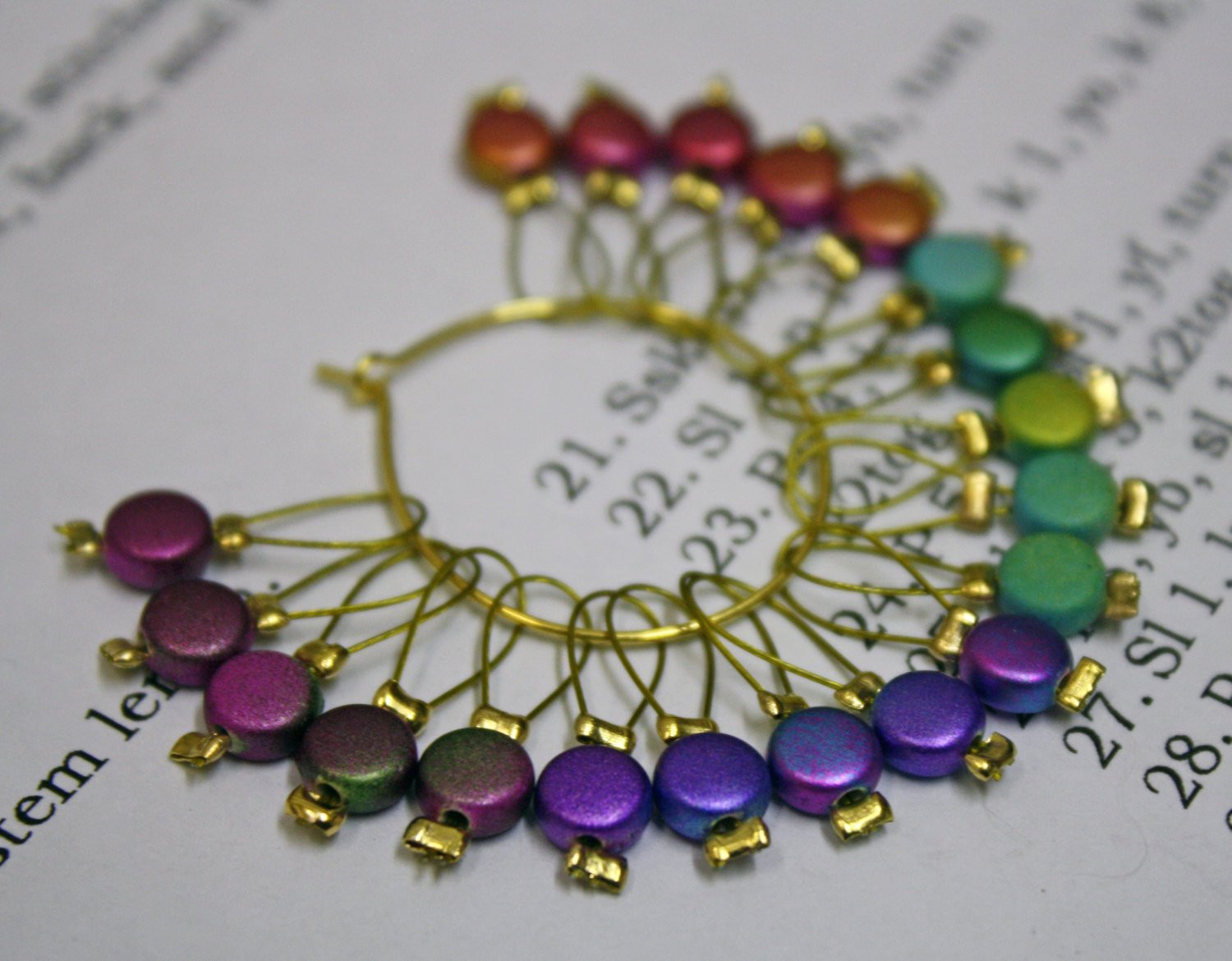 Awesome 20 Knitting Stitch Markers Coins Knitting Stitch Markers Of Gorgeous 48 Models Knitting Stitch Markers