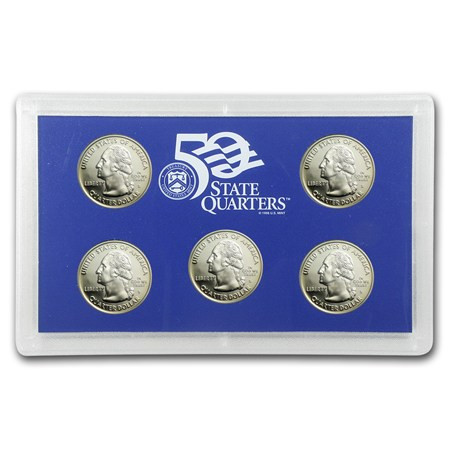 Awesome 2002 U S Proof Set Quarters Ly State Quarter Proof Set Of Top 48 Images State Quarter Proof Set