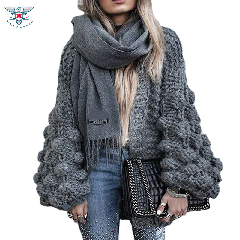 Awesome 2017 Autumn&winter Knitted Crochet Sweater for Women Oversized Crochet Sweater Of Superb 44 Images Oversized Crochet Sweater
