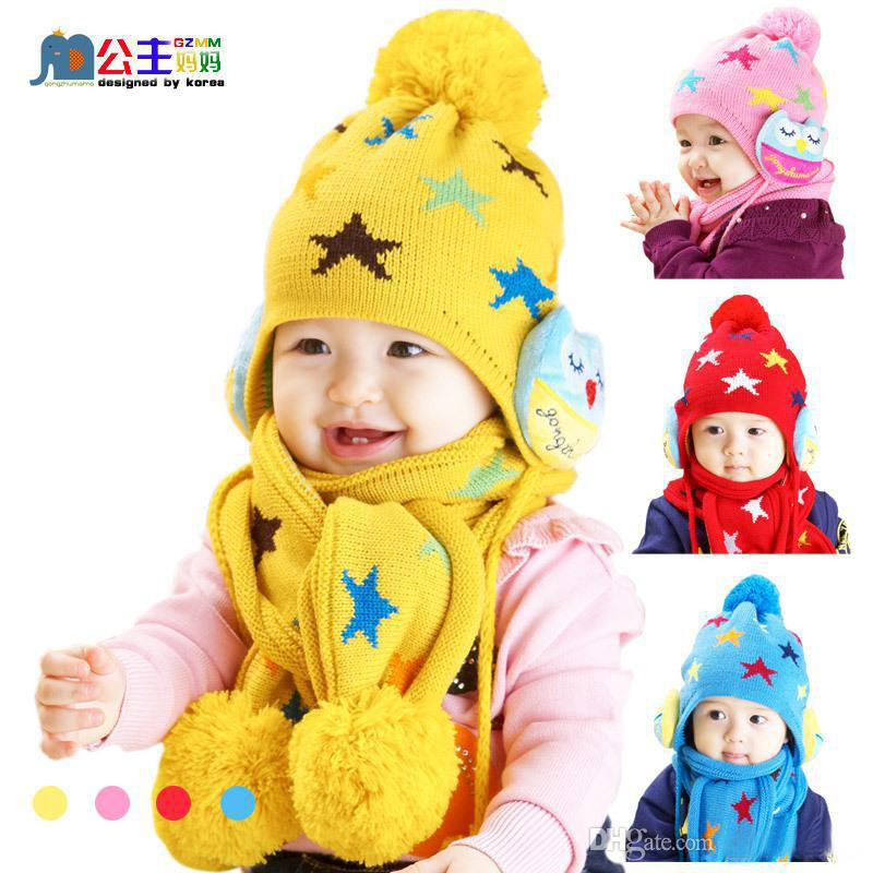 Awesome 2017 Hot Sale Fashion Children S Caps Sets Big Star Girls Children's Scarves Of New 48 Pictures Children's Scarves