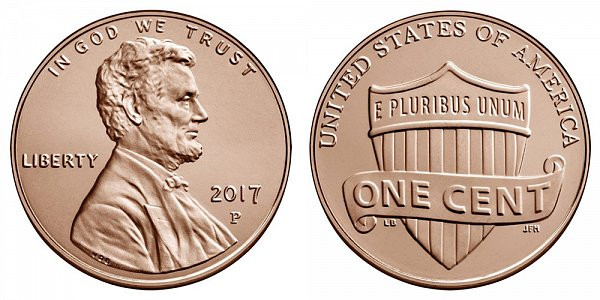 Awesome 2017 Lincoln Shield Cent Copper Plated Zinc Penny Value Lincoln Cent Values Of Amazing 50 Images Lincoln Cent Values