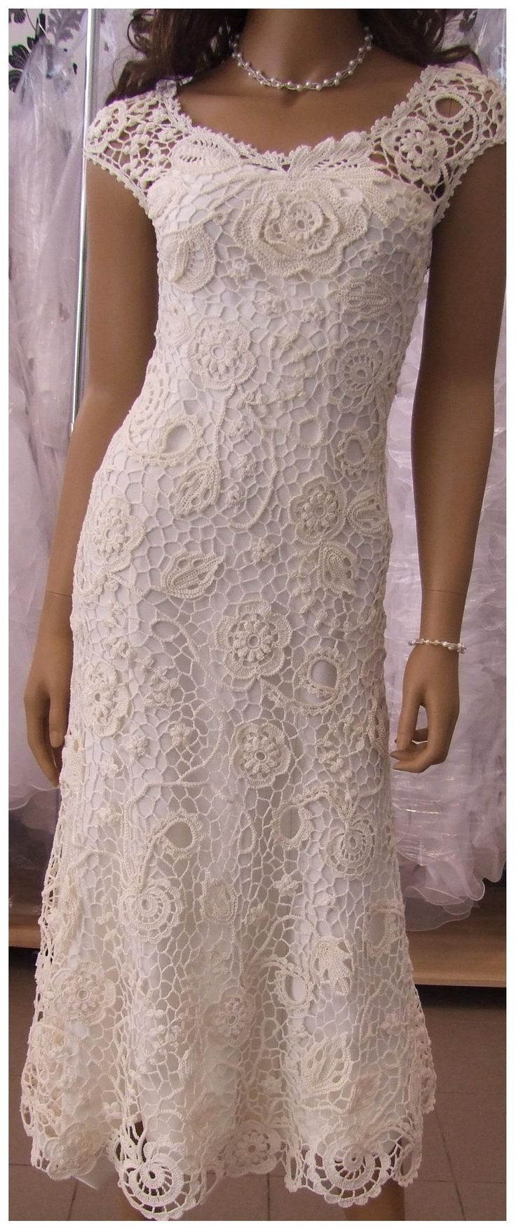 Awesome 22 Best Crochet Wedding Dress Images On Pinterest Crochet Wedding Dresses Of Attractive 47 Models Crochet Wedding Dresses
