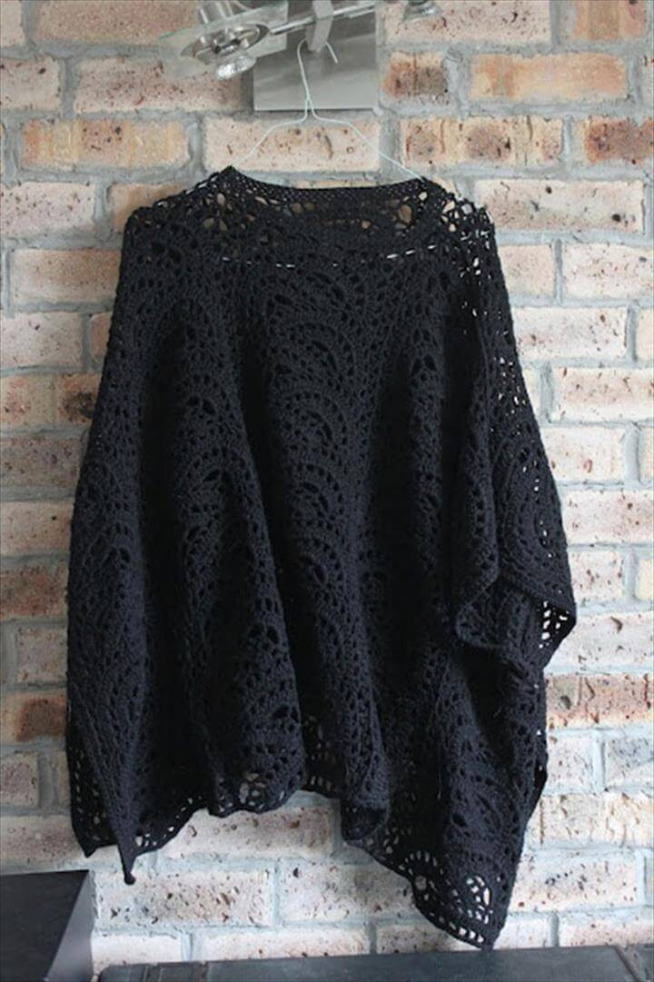 Awesome 24 Adorable Summer Poncho Free Crochet Design Crochet Poncho Of Incredible 40 Photos Crochet Poncho