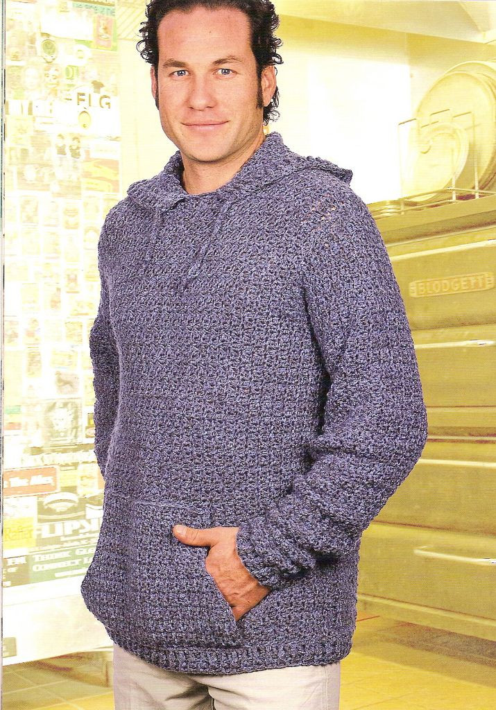 Awesome 25 Best Crochet Pullover Pattern Ideas On Pinterest Crochet Mens Sweater Of Awesome 15 Crochet Men Sweater Patterns 2017 Crochet Mens Sweater