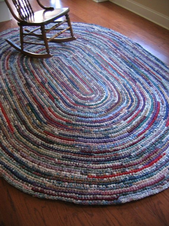 Awesome 25 Best Ideas About Crochet Rag Rugs On Pinterest Hand Crochet Rug Of Contemporary 41 Models Hand Crochet Rug