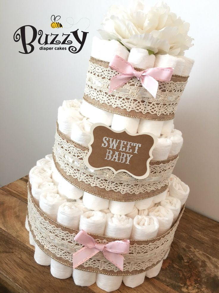 Awesome 25 Best Ideas About Diaper Cakes On Pinterest Baby Diaper Cake Ideas Of New 48 Pictures Baby Diaper Cake Ideas