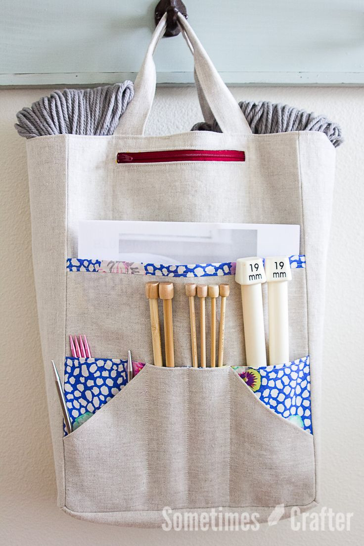 Awesome 25 Best Ideas About Knitting Bags On Pinterest Project Bag Pattern Of Incredible 47 Models Project Bag Pattern