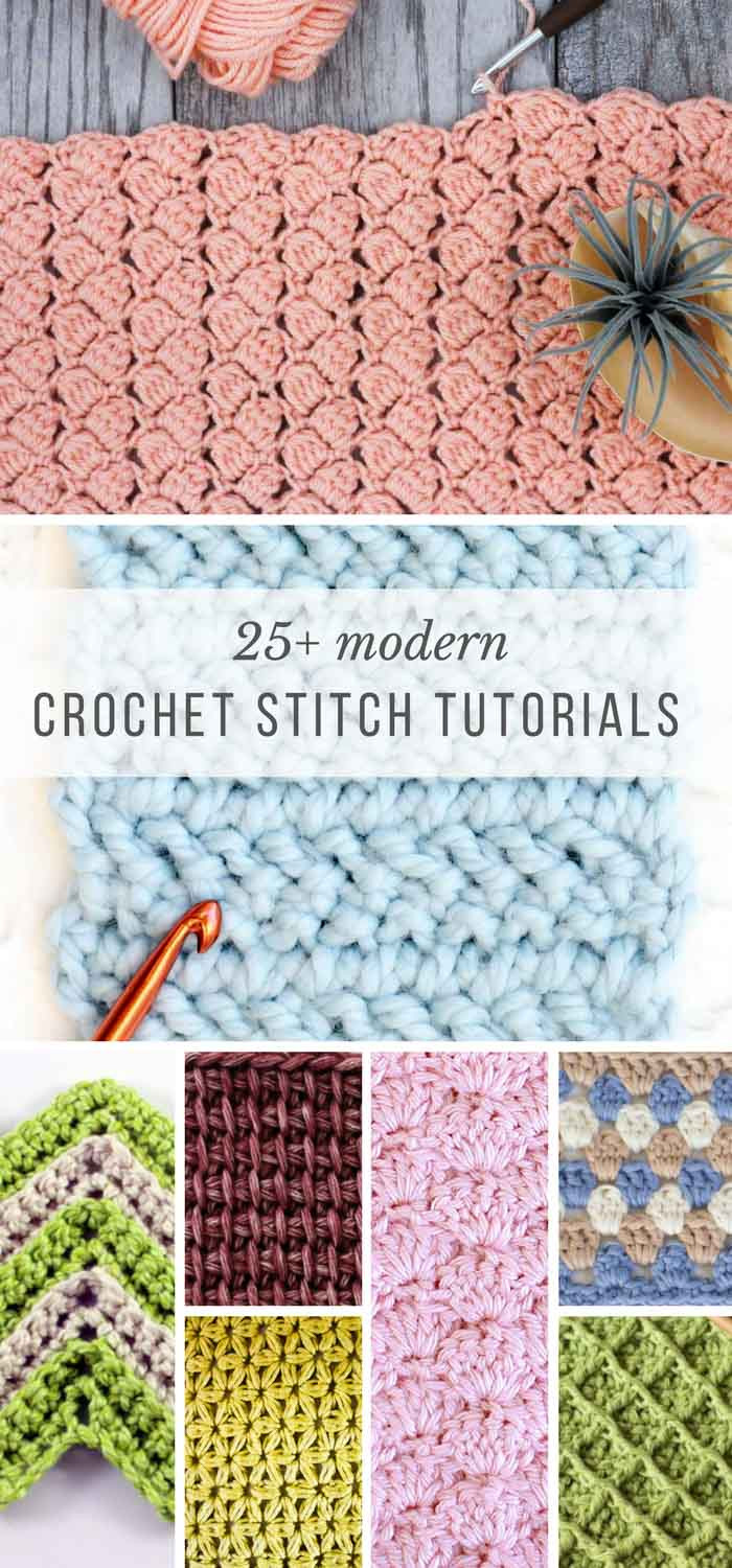 Awesome 25 Crochet Stitches for Blankets and Afghans Make & Do Crew List Of Crochet Stitches Of Amazing 49 Pics List Of Crochet Stitches