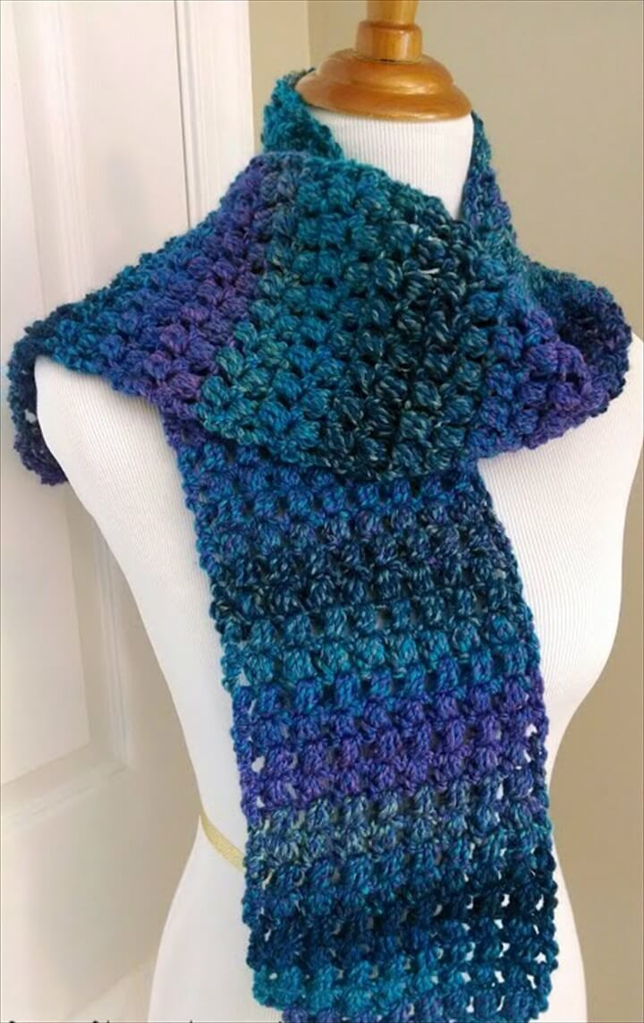 Awesome 27 Quick & Easy Crochet Scarf Quick Crochet Shawl Pattern Of New 41 Models Quick Crochet Shawl Pattern