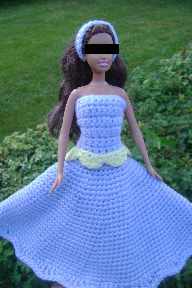 Awesome 293 Best Images About Barbie Crochet On Pinterest Crochet Barbie Clothes Of Marvelous 46 Photos Crochet Barbie Clothes