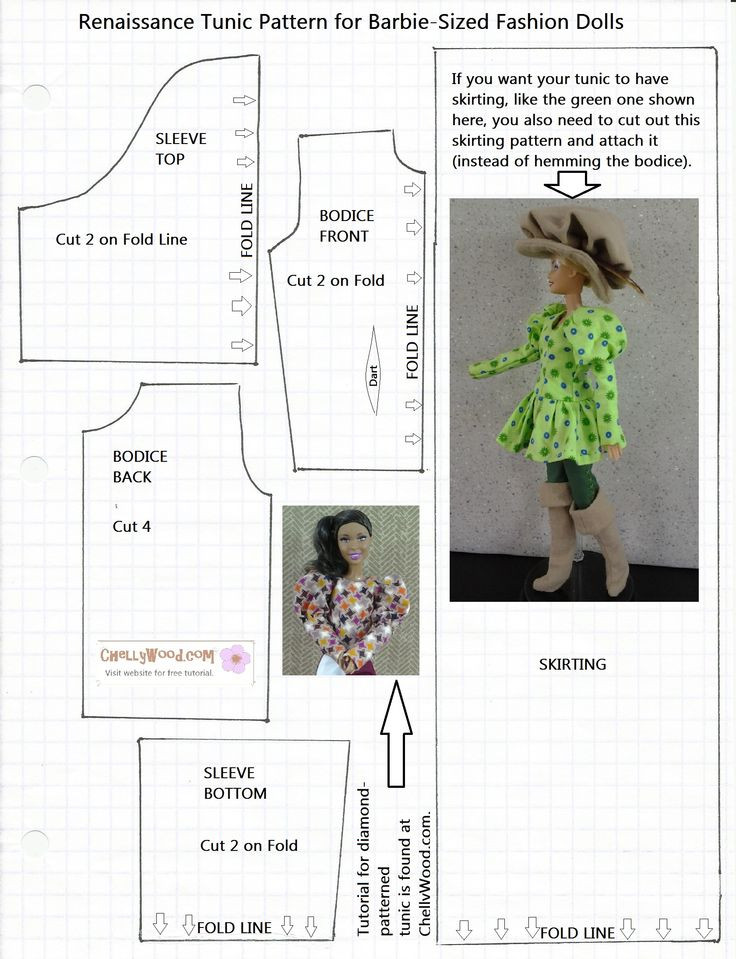 Awesome 296 Best Images About Doll Clothestutorials Ii On Barbie Doll Clothes Patterns Of Contemporary 50 Pictures Barbie Doll Clothes Patterns
