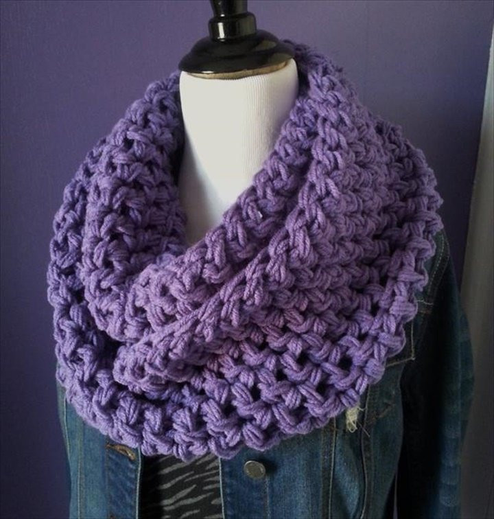 Awesome 32 Super Easy Crochet Infinity Scarf Ideas Crochet Scarves Of Amazing 43 Photos Crochet Scarves