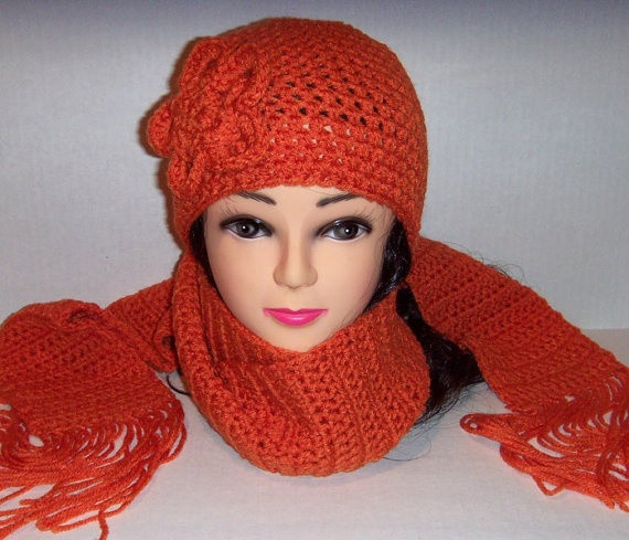 Awesome 325 Best Crochet Hat & Scarf Sets Images On Pinterest Crochet Hat and Scarf Set Of Amazing 44 Models Crochet Hat and Scarf Set