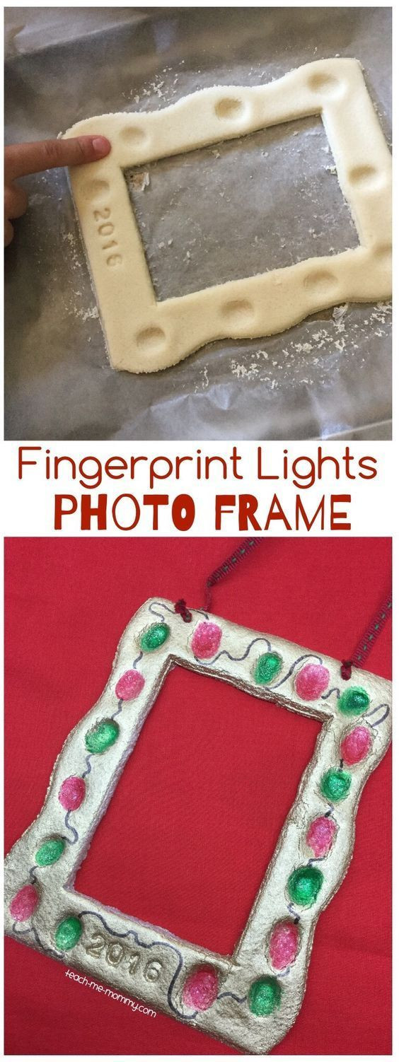 Awesome 35 Easy and Fun Diy Christmas Crafts for You and Your Picture Frame Crafts for Kids Of Adorable 48 Models Picture Frame Crafts for Kids