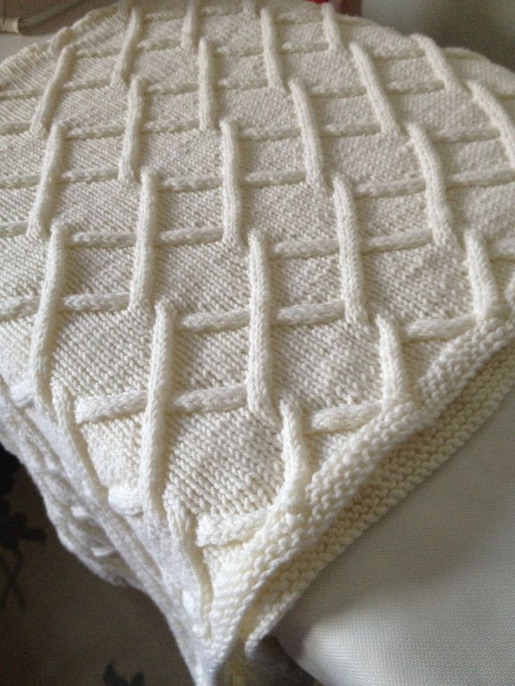 393 best Free baby blanket knitting patterns images on