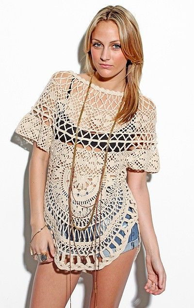 400 best images about moda mujer crochet on Pinterest