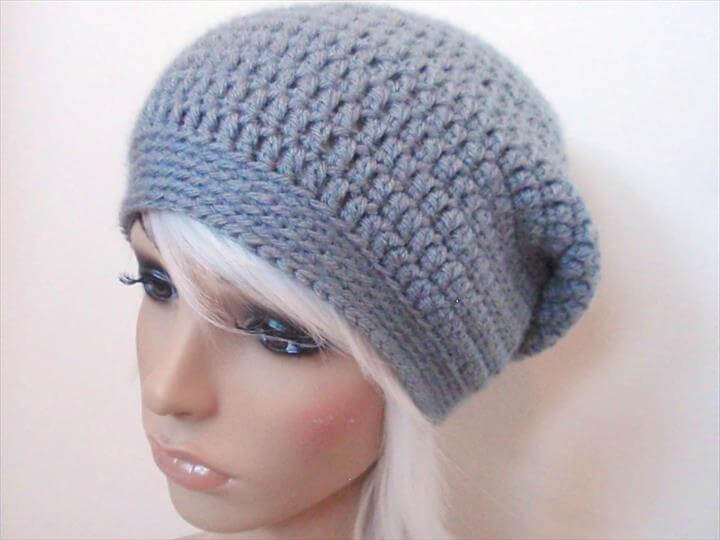 Awesome 45 Super Diy Crochet Brimmed Beanie Hat Design Free Slouch Hat Knitting Patterns Of Wonderful 49 Pictures Free Slouch Hat Knitting Patterns