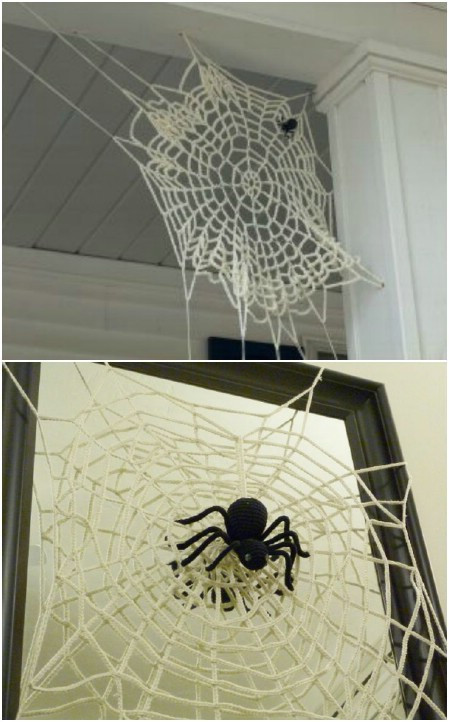 Awesome 50 Cute Projects to Make From Leftover Yarn they Make Crochet Spider Web Pattern Of Lovely 50 Pics Crochet Spider Web Pattern