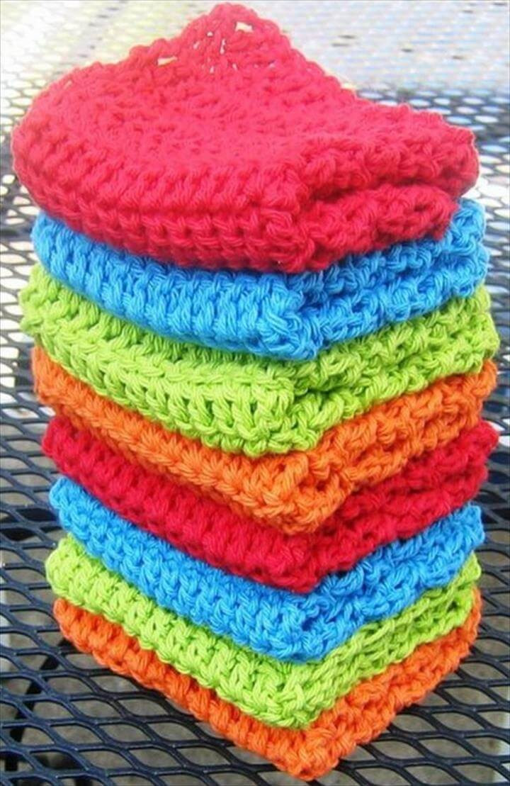 Awesome 56 Quick & Easy Crochet Dishcloth Free Dishcloth Patterns Of Attractive 40 Ideas Free Dishcloth Patterns