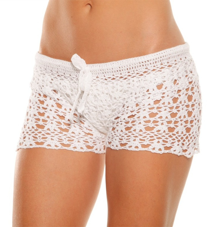 Awesome 59 Best Images About Crochet Shorts On Pinterest White Crochet Shorts Of Amazing 40 Photos White Crochet Shorts