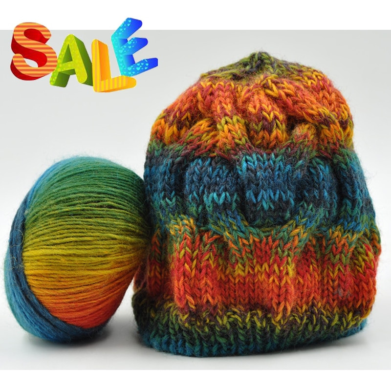 Awesome 6 Pieces 50g Australian Wool Rainbow Yarn for Discount Yarn Outlets Of Attractive 43 Pictures Discount Yarn Outlets