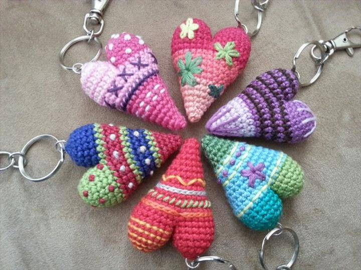 Awesome 62 Easy Handmade Fun Crochet Pattern Keychains Crochet Keychains Of Fresh 49 Ideas Crochet Keychains